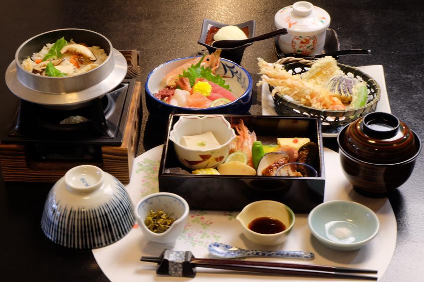 お食事コース ¥4000