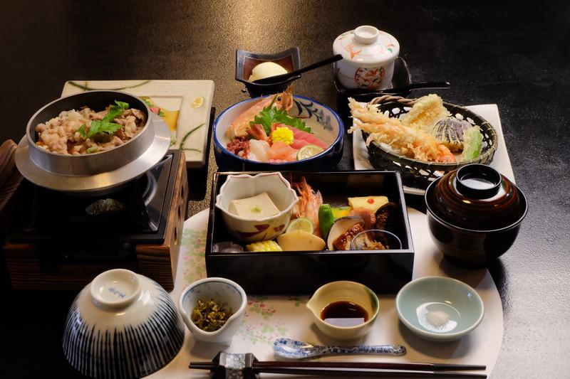 お食事コース ¥5000